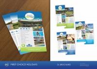 FCH Holiday Park Style Guide Brochures Postcards Rack Design Printing